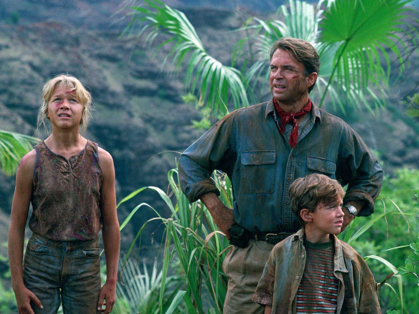 Jurassic Park - Hammond´s grandchildren