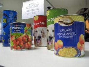 types of dog food