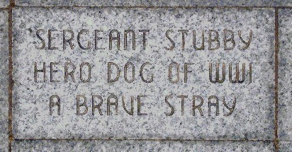 brick in honor to Balto
