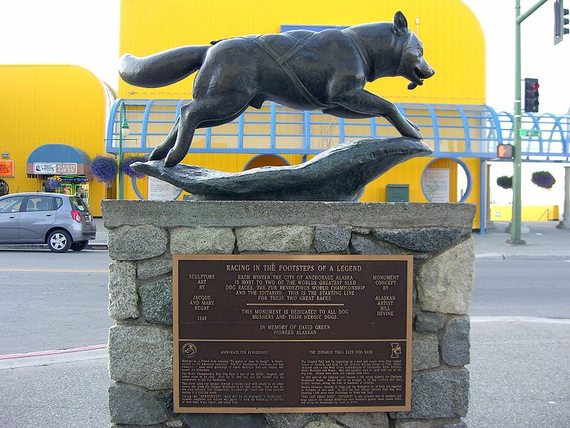 Balto´s monument