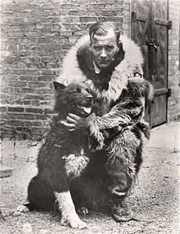 Balto with his owner
